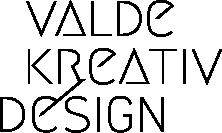 valde kreativ design logo